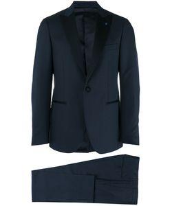Lardini | Slim Tailo Tuxedo Mens Size 54 Wool/Mohair/Silk/Cotton