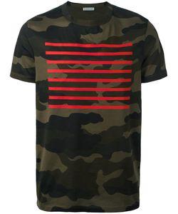 Moncler | Stripe T-Shirt Mens Size Large Cotton