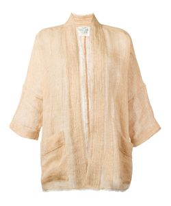 Forte Forte | Oversized Jacket Womens Size 2 Linen/Flax