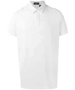 Theory | Short Sleeve Polo Shirt Mens Size Large Polyester/Supima Cotton/Cotton/Spandex/Elastane