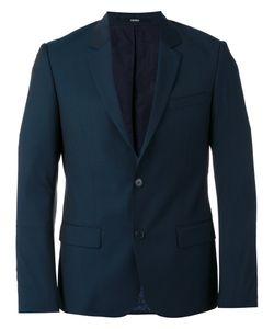 Kenzo | Single-Breasted Blazer Mens Size 52 Cotton/Acetate/Wool