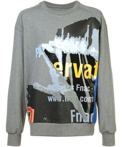 Juun.J | Printed Sweatshirt Mens Size 46 Cotton
