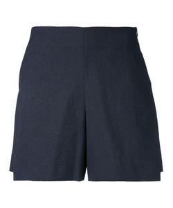 Demoo Parkchoonmoo | Oxford Shorts Womens Size 36 Cotton/Linen/Flax/Polyester