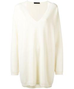 The Row   Miru Jumper Womens Size Medium Viscose/Virgin Wool/Spandex/Elastane