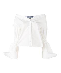 Jacquemus   Off-Shoulder Shirt Womens Size 42 Cotton