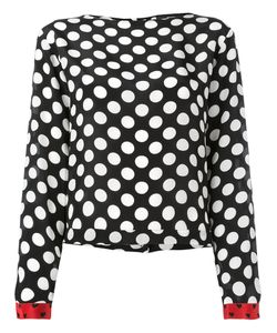 Diesel | Polka Dot Blouse Womens Size Large Viscose