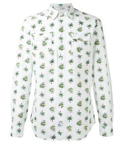 Hydrogen | Tree Print Shirt Mens Size Large Cotton