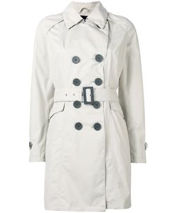 Herno | Belted Trench Coat Womens Size 40 Polyester/Fluorofibra