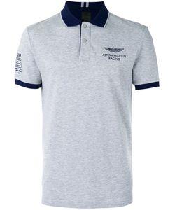 Hackett | Chest Print Polo Shirt Mens Size Medium Cotton