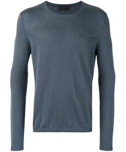 Iris von Arnim | Plain Sweatshirt Mens Size Large Cashmere/Linen/Flax