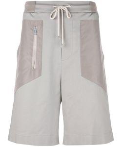 Les Hommes Urban   Zip Detail Drawstring Shorts Mens Size 46