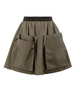 Maison Rabih Kayrouz   Patch Pocket Skirt Womens Size 36 Cotton