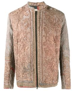 By Walid | Embroide Jacket Mens Size Large Silk/Cotton