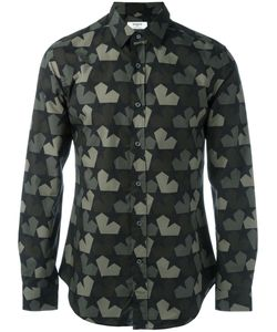 Ports   1961 Star Camouflage Shirt Mens Size 40 Cotton
