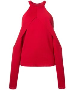 Dion Lee | Sleeve Release Evening Blouse Womens Size 8 Rayon
