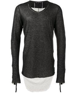 Cedric Jacquemyn   Dipped Hem Sweatshirt Mens Size 46 Cotton