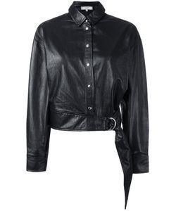 Iro | Shirt Leather Jacket Womens Size 36 Lamb Skin