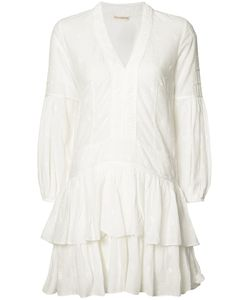 Ulla Johnson | V-Neck Jaclyn Mini Dress Womens Size 2 Cotton