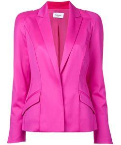 Mugler | Long Sleeved Blazer Jacket Womens Size 36 Spandex/Elastane/Virgin Wool