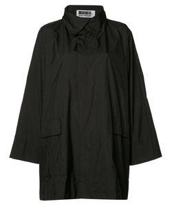 Issey Miyake   Classic Short Raincoat Womens Size 2 Polyester