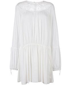 No21   Lace Insert Dress Womens Size 40 Silk/Acetate