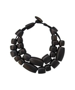 Monies | Tube Bead Dual Necklace Womens