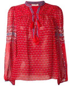 Ulla Johnson | Paisley Print Tassel Detail Blouse Womens Size 2