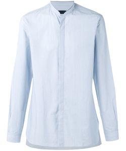 Lanvin | Mandarin Collar Shirt Mens Size 38 Cotton