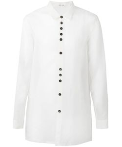 Damir Doma | Raw Edge Shirt Mens Size Medium Silk/Nylon