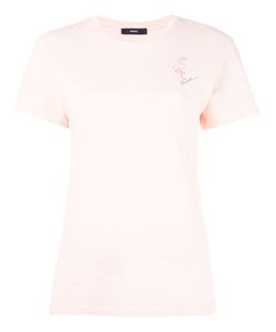 Diesel | T-Sully-Ap Flamingo Print T-Shirt Womens Size Small Cotton