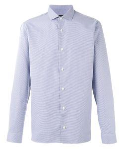 Z Zegna | Checked Shirt Mens Size 43 Cotton