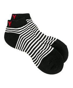 Yohji Yamamoto | Striped Sport Socks Mens Cotton/Acrylic/Nylon
