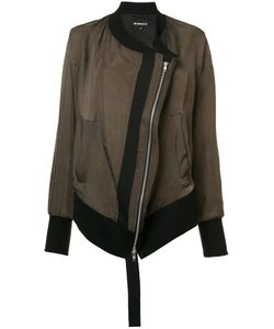 Ann Demeulemeester Blanche   Diagonal Zip Bomber Jacket Womens Size 38