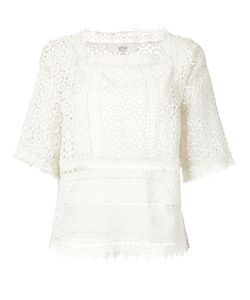 Vanessa Bruno Athé | Lace Blouse Womens Size 36 Cotton