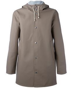Stutterheim   Drawstring Hood Raincoat Mens Size Xs Pvc