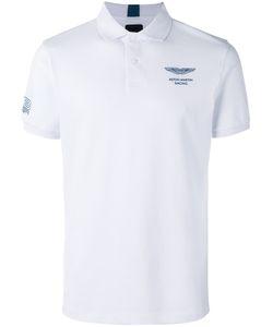 Hackett | Chest Print Polo Shirt Mens Size Xxl Cotton
