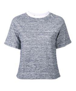 Julien David | Crewneck T-Shirt Womens Size Medium Cotton