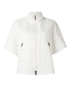 Ermanno Scervino | Short Sleeve Quilted Jacket Womens Size 42 Polyester/Polyamide