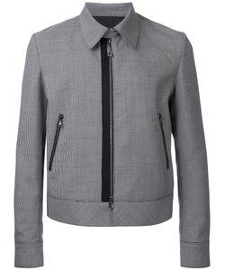 Wooyoungmi | Zipped Shirt Jacket Mens Size 48 Mohair/Wool