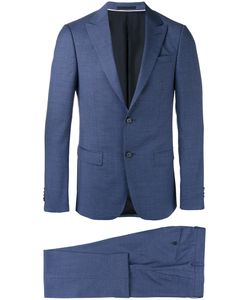 Z Zegna | Peaked Lapel Two-Piece Suit Mens Size 50 Wool/Cupro