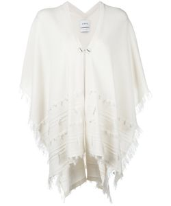 Barrie | Shortsleeved Poncho Womens Cashmere