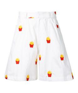 Mikio Sakabe | French Fries Shorts Adult Unisex Size Medium Cotton