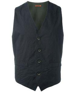 Barena   Buttoned Waistcoat Mens Size 50 Cotton/Spandex/Elastane
