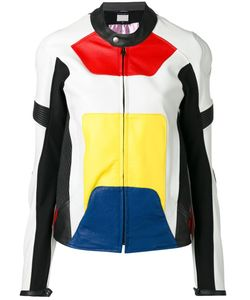 Alyx | Panelled Colour Block Jacket Womens Size Xs Calf Leather/Polyamide/Polyester