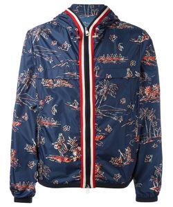 Moncler | Hawaiian Print Jacket Mens Size Iii Polyamide