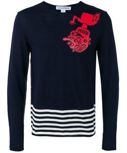Comme Des Garçons | Shirt Striped Detail Jumper Mens Size Large