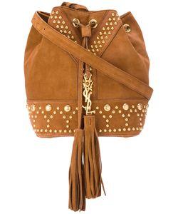 Saint Laurent | Studded Bag Womens Calf Suede