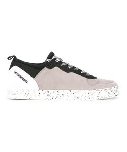 Hogan Rebel | Splatter Print Lace-Up Sneakers Mens Size 10 Leather/Nylon/Rubber