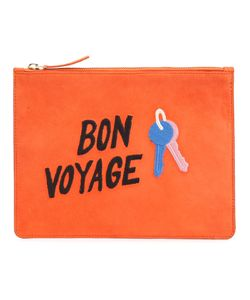 Lizzie Fortunato Jewels   Bon Voyage Clutch Suede