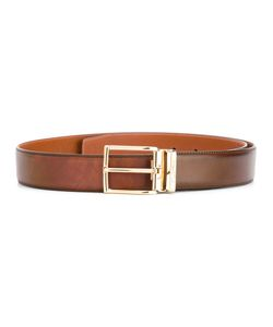 Santoni | Classic Belt Mens Size 95 Calf Leather